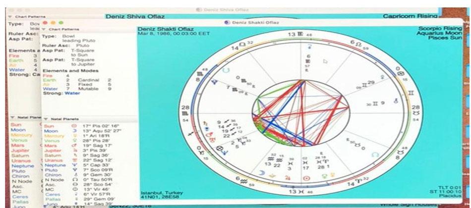 Horoskop İncelemesi